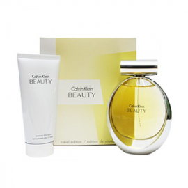 Calvin Klein Beauty for Women ( Rinkinys moterims EDP 100ml + 100ml body lotion)