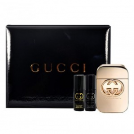 Gucci Guilty for Women (Kvepalai moterims) EDT 75ml +8ml massage oil +8ml pour homme body oil