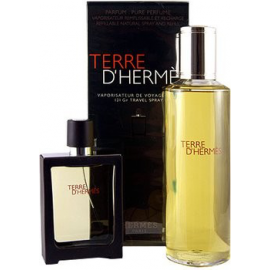 Hermes Terre D'Hermes Parfum for Men (Rinkinys Vyrams) EDP 30ml + EDP 125ml