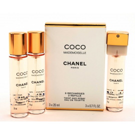 Chanel Coco Mademoiselle for Women (Kvepalai moterims) EDT 3x20 - (Refills)