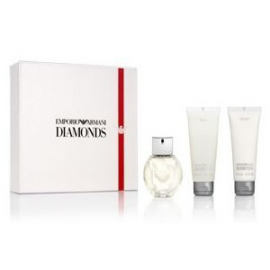 ARMANI EMPORIO DIAMONDS Woman RINKINYS ( EDP 50 ml +75 ml dušo g. + 75 ml body kr )