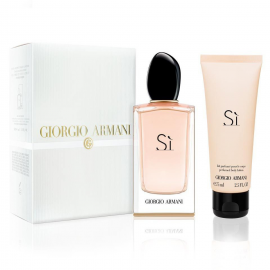 Giorgio Armani Si for Women (Rinkinys Moterims) EDP 100ml +75ml Body Lotion