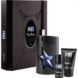 Thierry Mugler Amen for Men (Rinkinys Vyrams) EDT 100ml+50ml Body Shampoo +20ml Deodorant
