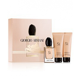 Giorgio Armani -  Si  for Women (Rinkinys moterims) EDP 50ml +75ml Body Lotion + 75ml Shower Gel