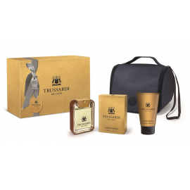 Trussardi - My Land for Man (Rinkinys Vyrams) EDT 100ml + 100ml Shower Gel + Cosmetics bag