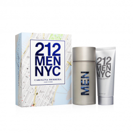 Carolina Herrera 212 for Men (Rinkinys vyrams) EDT 100ml + EDT 30ml Shower Gel