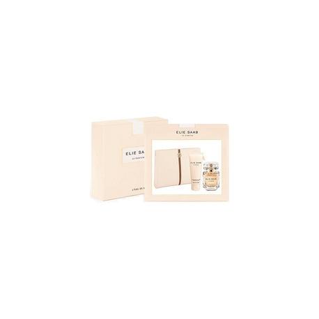 Elie Saab Le Parfum For Women (Rinkinys Moterims) EDP  50ml + 75ml Body Lotion + Bag