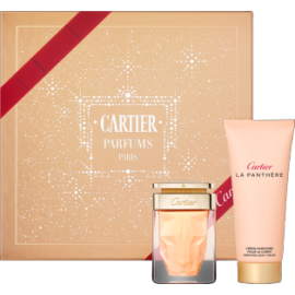 Cartier La Panthere for Women (Rinkinys Moterims) EDP 75ml + 100ml Body Cream
