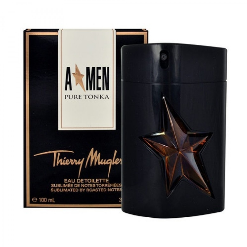 Thierry mugler a men pure tonka for men kvepalai vyrams for Thierry mugler miroir des majestes