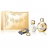 Versace Eros Pour Femme for Women (Rinkinys Moterims) EDP 100ml + 100ml Body Lotion + Baggage tag