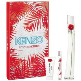 Kenzo Flower by Kenzo for Women (Rinkinys Moterims) EDP 100ml + EDP 15ml + Body Milk 50ml