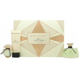Bvlgari Jasmin Noir Mon L'Eau Exquise for Women (Kvepalai Moterims) EDT 75ml + EDT 15ml + 100ml Body Lotion