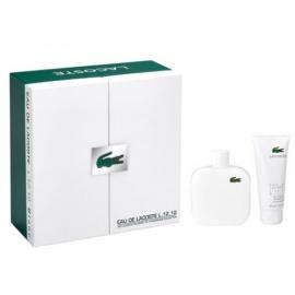 Lacoste - Eau de Lacoste L.12.12 Blanc for Man (Rinkinys vyrams) EDT 100ml + 150ml Shower Gel