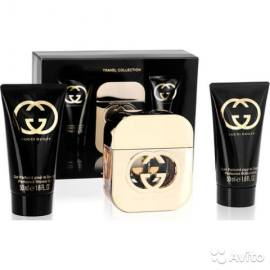 Gucci Guilty for Women (Rinkinys Moterims) EDT 50ml + 50ml Body Lotion + 50ml shower Gel