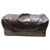 Dolce Gabbana Brown Leather Weekender Bag for Men (Kelioninis krepšys Vyrams)