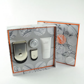 Hermes Voyage d'Hermes Pure Perfume Unisex (Rinkinys Vyrams ir Moterims) 100ml + 5ml Parfum + 30ml Show Gel + 10ml Body Lot