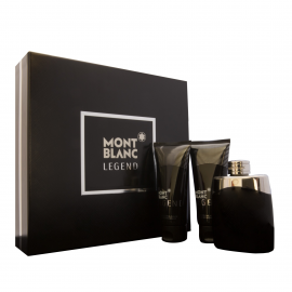 Mont Blanc Legend for Men (Rinkinys Vyrams) EDT 100ml + 100ml After Shave Balm + 100ml Shower Gel