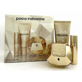 Paco Rabanne Lady Million for Women (Kvepalai moterims) EDP 80ml + 10ml EDP + 100ml Body Lotion