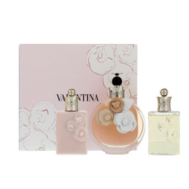 Valentino Valentina for Women (Rinkinys Moterims) EDP 80ml + 50ml Body lotion + 50ml Shower Gel