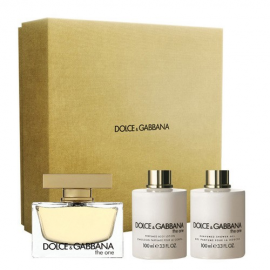 Dolce & Gabbana The One for Women (Rinkinys Moterims) EDP 75ml + 7.4ml + 100ml Body Lotion