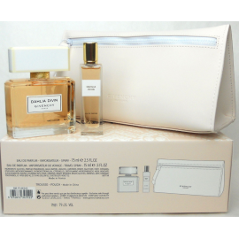 Givenchy Dahlia Divin for Women (Rinkinys Moterims) EDP 75ml + 15ml EDP Travel Spray + Cosmetic Bag