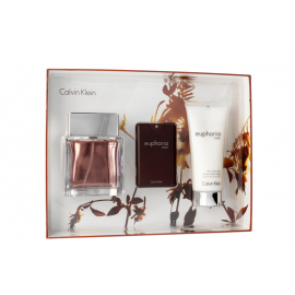 Calvin Klein Euphoria for Men (Rinkinys Vyrams) EDT 100ml + 100ml After shave balm + EDT 20ml