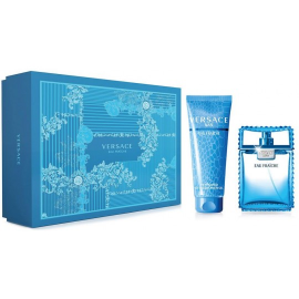 Versace Man Eau Fraiche for Men ( Rinkinys vyrams) EDT 100ml +150ml Shower Gel
