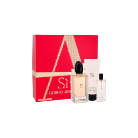 Giorgio Armani Si  for Women (Rinkinys moterims) EDP 100ml +15ml EDP + 75ml Body Lotion