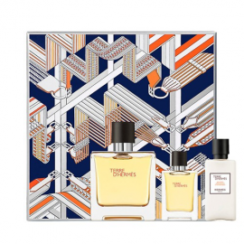 Hermes Terre D'Hermes Parfum for Men (Rinkinys Vyrams) EDP 75ml + EDP 12.5ml + 40ml After Shave Lotion