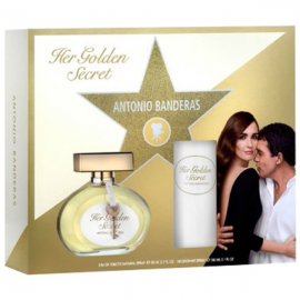 Antonio Banderas Golden Secret for Women (Rinkinys Moterims) EDT  80ml + 150ml Deo-Spray