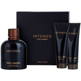 Dolce & Gabbana Pour Homme Intenso (Rinkinys Vyrams) EDP 125 ml + 50ml After Shave + 50ml Shower Gel