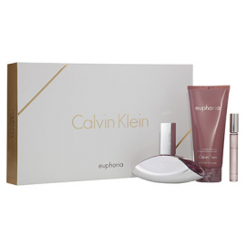 Calvin Klein Euphoria for Women (Rinlinys Moterims) EDP 100ml + 200ml Body Lotion + 10ml EDP