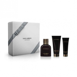 Dolce & Gabbana Pour Homme Intenso (Rinkinys Vyrams) EDP 125 ml + 100ml After Shave + 50ml Shower Gel
