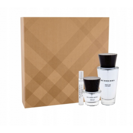Burberry  Touch for Men (Rinkinys  Vyrams) EDT 100ml+ EDT 30ml + EDT 7.5ml