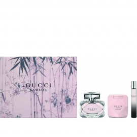 Gucci Bamboo for Women (Rinkinys Moterims) EDP 75ml +100ml Body Lotion + EDP 7,4ml