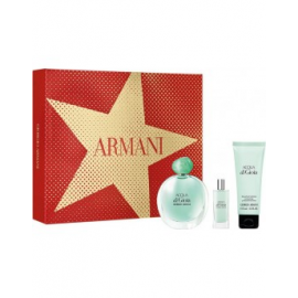 Giorgio Armani Acqua Di Gioia for Women (Rinkinys moterims) EDP 50ml +75ml Body Lotion + 15ml EDP