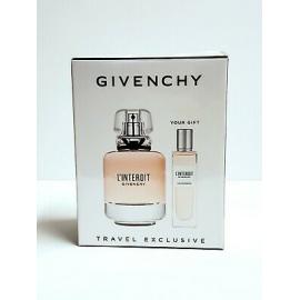 Givenchy L'Interdit  for Women (Rinkinys moterims) EDP 80ml + EDP 15ml