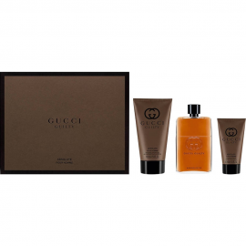 Gucci Guilty Absolute for Men (Rinkinys Vyrams) EDP 90ml + 50ml After Shave + 150ml Shower Gel