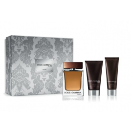 Dolce & Gabbana The One for Men (Rinkinys Vyrams) EDT 100ml + 75ml After shave balm + 50ml Shower gel