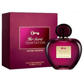 Antonio Banderas Her Secret Temptation (Kvepalai Moterims) EDT 80ml