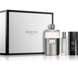 Gucci Guilty Pour Homme (Rinkinys Vyrams) EDT 90ml + 75ml Deodorant Stick + 15ml EDT
