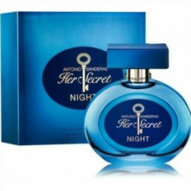 Antonio Banderas Her Secret Nigh (Kvepalai Moterims) EDT 80ml