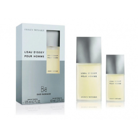 Issey Miyake L'Eau D'Issey Pour Homme (Rinkinys Vyrams) EDT 125ml + EDT 40ml