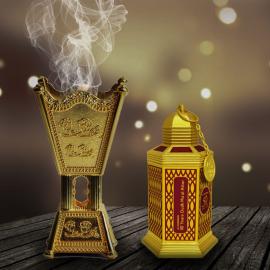 Smilkalai Al Haramain 50 Years Oudh Ma'al Attar Bukhoor90gr