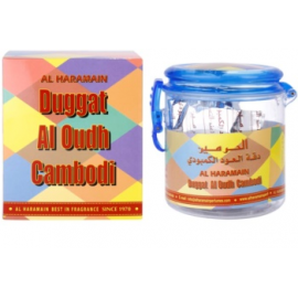 Smilkalai Al Haramain Duggat Al Oudh Cambodi Bukhoor 50gr