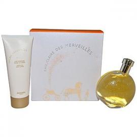 Hermès Eau Des Merveilles for Woman (Rinkinys Moterims) EDT 50ml + 75ml (Kūno pienelis)