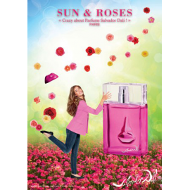 Salvador Dali Sun & Roses for Woman (Kvepalai Moterims) EDT 100ml (TESTER)