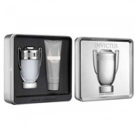 Paco Rabanne Invictus for Men (Rinkinys Vyrams) EDT 100ml + 100ml Shower gel