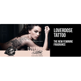 Diesel  Loverdose Tattoo for Women (Kvepalai Moterims) EDP 75ml (TESTER)