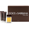Dolce & Gabbana The One for Men (Rinkinys Vyrams) EDT 100ml + 50ml After shave balm + 50ml Shower gel